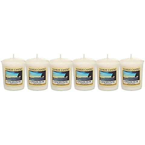 Yankee Candle - 6 x Ginger Dusk Samplers (New for