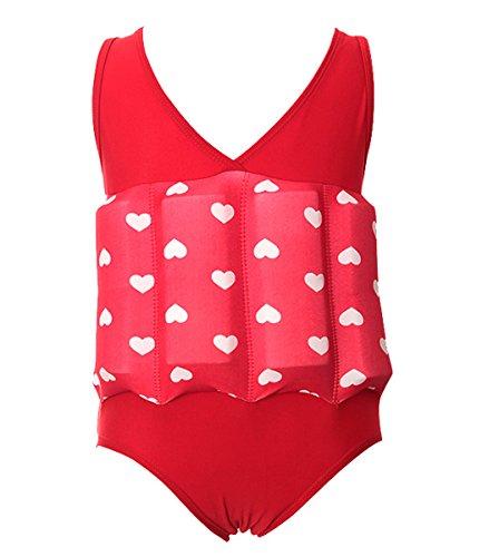 Comfysail Kids UV Bojen-Badeanzug Float Suit Badeanzug mit Anpassbaren Schwimmhilfe für Kinder Schwimmen Lernen