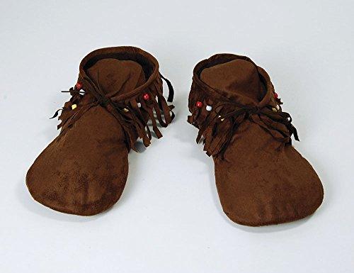 Männer Hippie Indianer Moccasins (Hippie Schuhe)