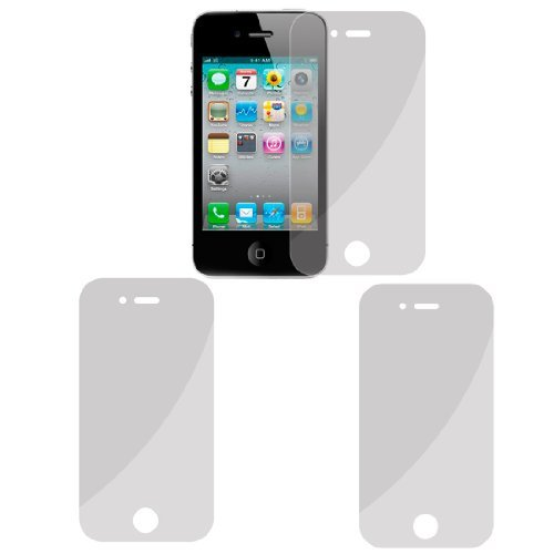 2-delige Clear LCD Screen Protector Film Guard voor iPhone 4 4G 4S 4g Lcd Screen Protector