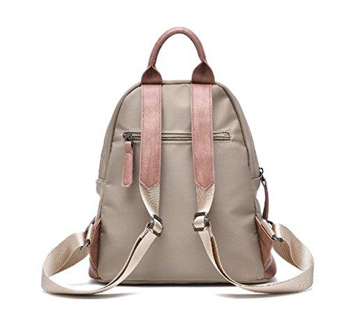 Umhängetasche Frauen Tragen Oxford Stoff Casual Fashion Travel Rucksack Tasche Einfach Black