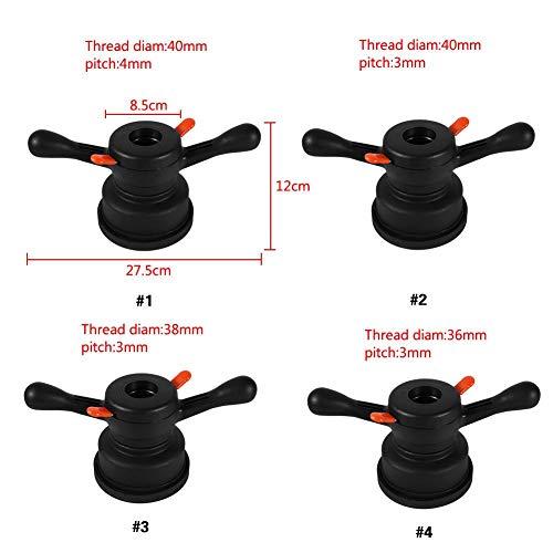 Thread Diam 36mm Pitch 3mm Equilibratrice della Ruota Attrezzo di Cambio de Cavo Dellala del Mozzo a Sgancio Rapido