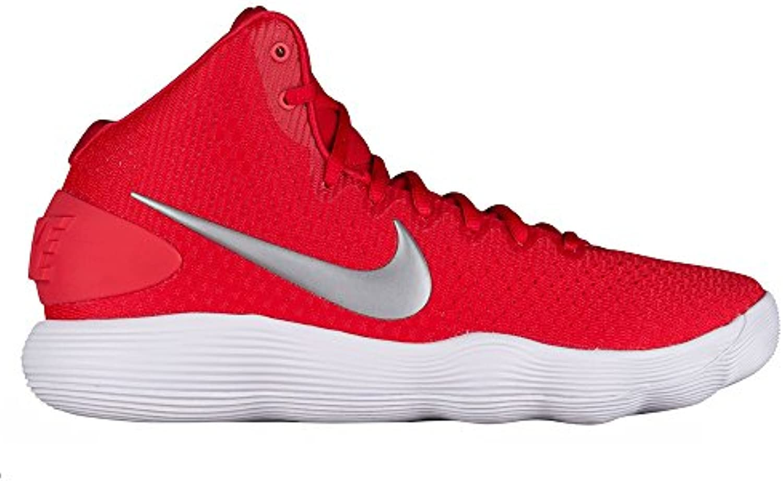 Mens Nike Hyperdunk 2017 TB Basketball Shoe University Red/Metallic Silver/White Size 12 M US