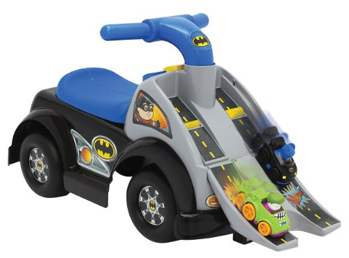 Jakks Pacific Pequeños Batman rennbahn & Moto [UK Import]