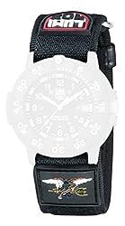 Luminox Armband für 3901 / 3903 / 3905 / 3000 / 3050 / 3080 , schwarz, Nylon, 27 mm Anschlag