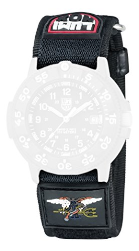 Luminox - Correa para 3901/3903 / 3905/3000 / 3050/3080 Nailon, 27 mm, Color Negro