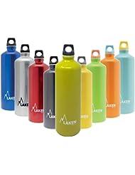 Laken Botella de Aluminio Futura Boca Estrecha 1,5L Verde Mate