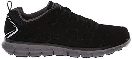 Skechers For Work 77062 Synergy Hosston Chaussure de marche Black