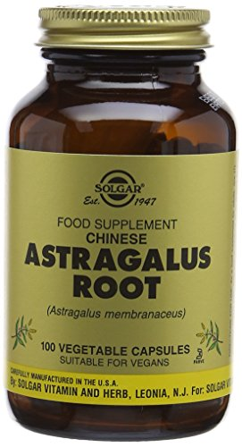 Solgar Chinese Astragalus Root Vegetable Capsules - Pack of 100 Test