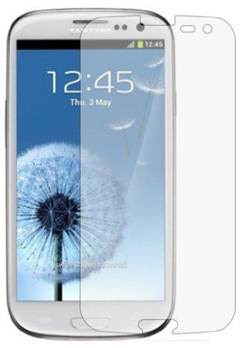 3 x Membrane Pellicola Protettiva compatibile con Samsung GT-i9300 Galaxy S3 SIII (GT-i9300 / i9301 S III Neo / i9300i S3 Neo / Galaxy SIII Neo+ / GT-i9308 / S3 Duos) - Crystal Clear (Invisible), Antigraffio Protezione Schermo, Confezione Originale ed accessori