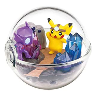 Nintendo Pokemon Center Original Pokeball Terrarium Figure Along with Pikachu~302 Yamirami Sableye Zobiris Ténéfix
