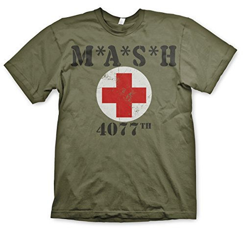 Wotan Textil M.A.S.H. Lazarett 1- Tshirt M Serie Textil