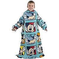 Disney Sleeved Fleece Blanket / Snuggle Throw for Kids, Boys, Girls