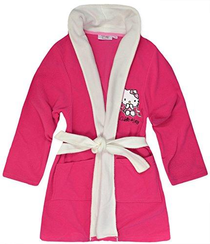 Hello Kitty - Robe de chambre - Manches Longues - Femme Rouge - Cerise