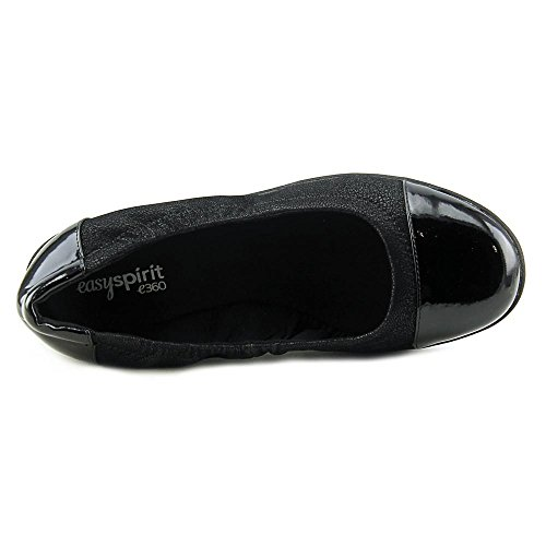 Easy Spirit e360 Kable Toile Mocassin Blk2-Blk
