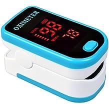 Oxímetro de pulso portátil Elera para medir SpO2y frecuencia cardíaca con pantalla digital de LED