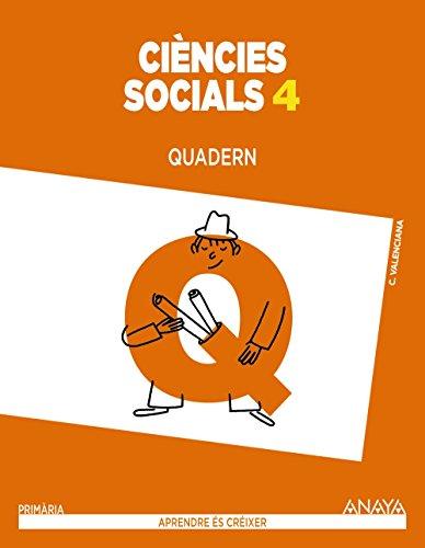 Ciències socials 4. Quadern. (Aprendre és créixer) - 9788467879742