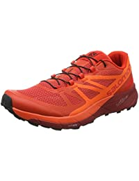 a5eaa3b27bfa Amazon.co.uk  Red - Trail Running Shoes   Running Shoes  Shoes   Bags