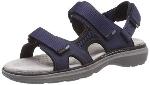 Clarks Damen Un Roam Step Slingback Sandalen, Blau (Navy), 39.5 EU (Blaue Für Frauen Clark Schuhe)