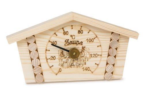 Saunathermometer - Kiefer -Blockhaus- (Pinetta)