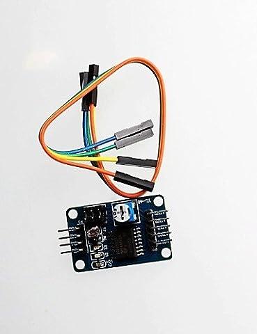K-NVFA PCF8591 Modul AD / DA-Wandlermodul Analog-Digital / Digital-Analog-Umwandlung DuPont Leitung zum Senden #-443