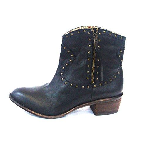 lucky-brand-cowboy-superb-estilo-tobillo-botas-de-mujer-talla-uk-35-color-negro-talla-385-eu