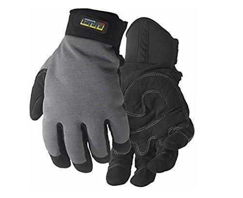 Blakläder Handschuhe 'Handwerk', 1 Stück, 9, schwarz / khaki, 2234391499229