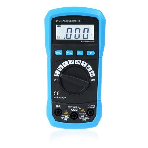 KKmoon Voltometro digitale / multimetro/ amperometro AC...