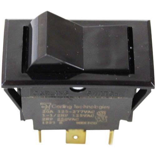 Cleveland 19992Schalter RCKR COMPART Bypass glänzend Appliance Rocker Switch