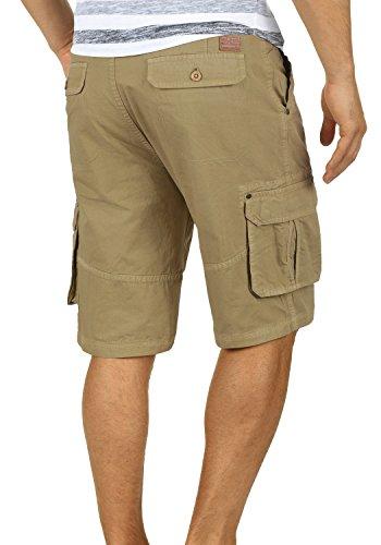 BLEND Renji Herren Cargo-Shorts kurze Hose mit Taschen aus 100% Baumwolle Lead Gray (70036)