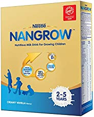 Nestle Nangrow Nutritious Milk Drink for Growing Children (2-5 years)- 400g Bag-In-Box Pack (Creamy Vanilla Fl