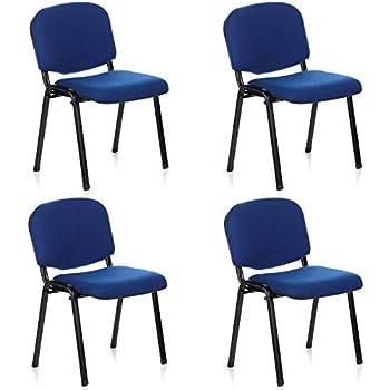 Set di 6 sedie attesa ufficio sala conferenze comode for Sedie attesa ufficio