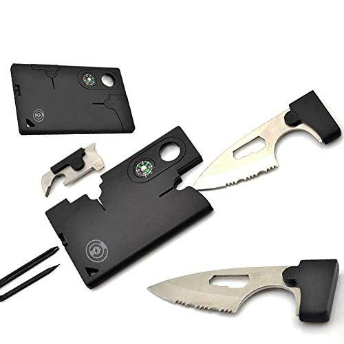 iBaste-Survival Kits Werkzeugkarte Outdoor-Armeemesser-Karten-Kombinationswerkzeug-Kartenmesser...
