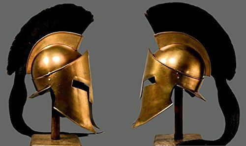 King Spartan 300Movie Helm (King (Kostüm Helm Spartan)