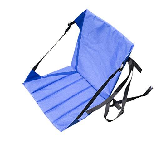 zhbotaolang Camping Chaise Stade Siège Coussin - Plage Jardin Fête Arrière-Cour Portable Pliable Pique-Nique Randonnée Loisir Séance Tampon