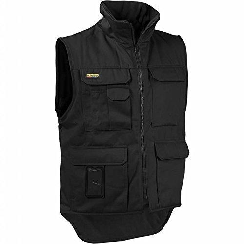 """Blåkläder Workwear Arbeits-Winterweste """"3801"""" Fleece-Futter, 1 Stück, XL, schwarz, 67-38011900-9900-XL"""