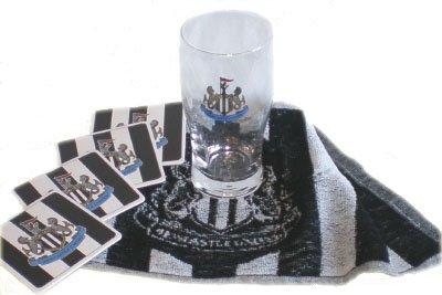 newcastle-united-fc-mini-bar-set-mit-mini-bar-set-aus-1-pint-bier-mats-glass-4-x-1-x-bier-handtuch-i