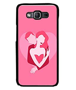Samsung Galaxy On7 G600Fy, Samsung Galaxy Wide G600S, Samsung Galaxy On 7 (2015) Back Cover Lovely Couple Hugging Design From FUSON