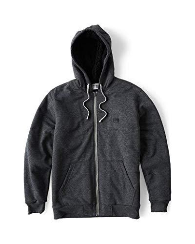 BILLABONG Herren Sweatshirt All Day Sherpa Zip - Schwarz - Mittel Billabong Zip-hoody