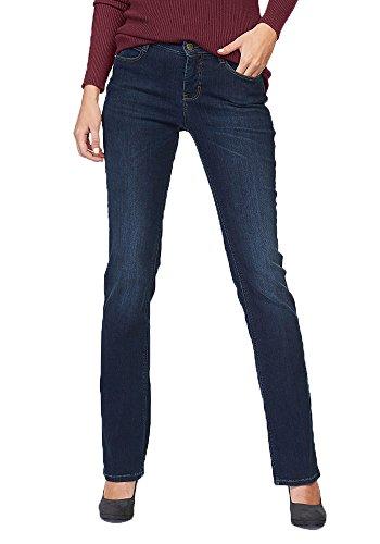 MAC Dream Flared Jeans Blue Damen D873 W34 L32 (Denim Jeans Blue Flared)