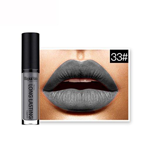 FNKDOR 2018 Nouveau Lip Matte Liquide Rouge à Lèvres Imperméable Maquillage à Lèvres Brillant 24 Teintes