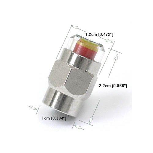 gozens 1,8-5,6Bar TPMS Tire Pressure Monitor valvola pneumatico sensore (2.1 Sistema Di Monitoraggio)
