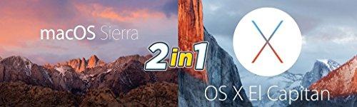 (2-in-1) Mac os High Sierra + Mac os x El capitan Bootable USB Install FOR Mac