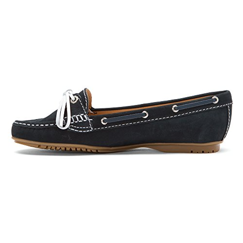 SebagoMeriden Two Eye - Mocassini Donna Navy Nubuck