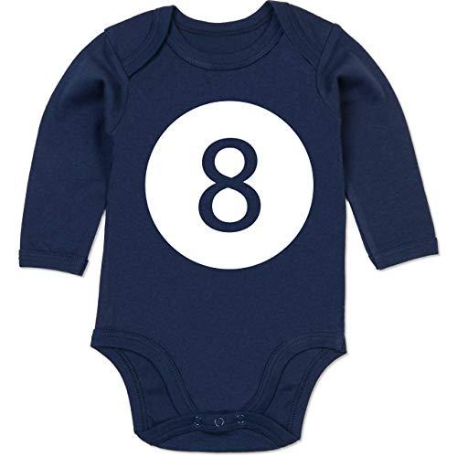 Shirtracer Karneval und Fasching Baby - Super 8 Karneval Kostüm - 12-18 Monate - Navy Blau - BZ30 - Baby Body - Gruppe Von Acht Kostüm