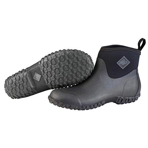 Muck Boots Herren Men's Muckster Ii Ankle Gummistiefel, Schwarz (Black/Black), 43 EU (Boot Back Ankle)