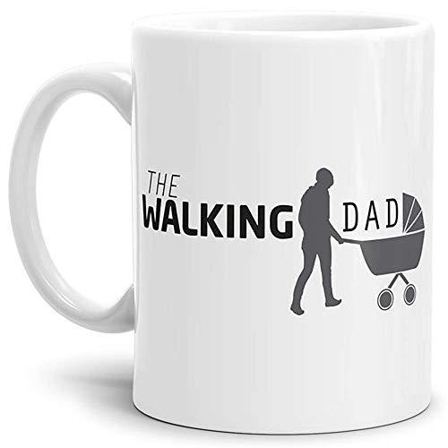 Tassendruck Spruch-Tasse The Walking Dad - Kaffeetasse/Mug/Cup - Qualität Made in Germany