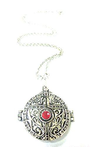 Halskette mit Knochen Chroniken der Unterwelt - City Becher Tasse Scharnier Unterwelt Halskette Engelsflügel