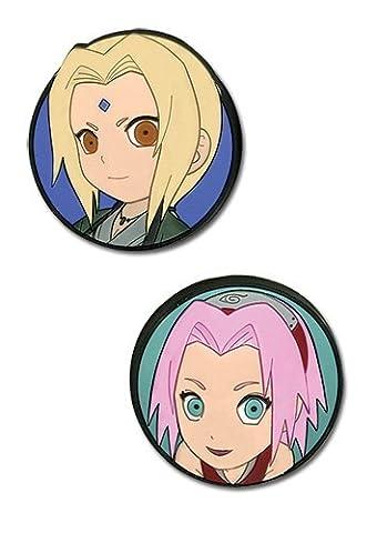 Naruto Shippuden: Chibi Tsunade & Sakura Anime Pin Set