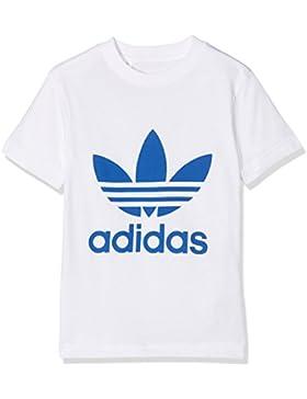 adidas Jungen J Trf Tee Shirt, Weiß